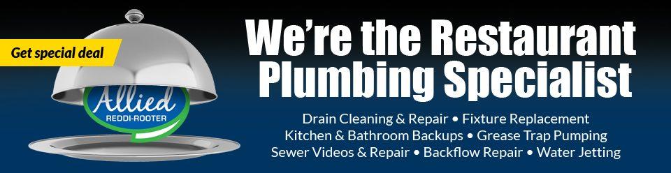 Cincinnati restaurant plumbing specialists